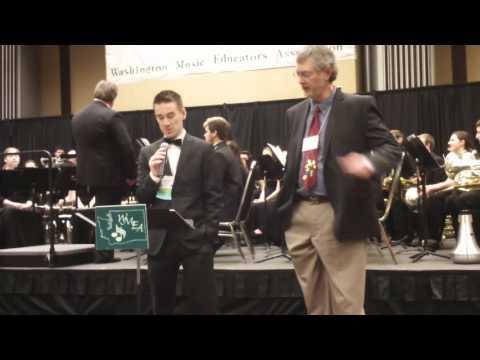Karl Scarborough SW Washington Music Teacher award
