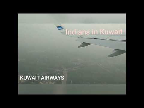 KUWAIT AIRWAYS- AU 384 Flight at IGI AIRPORT