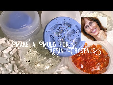 Make a Pebeo Mold and Resin Crystals with Tristina