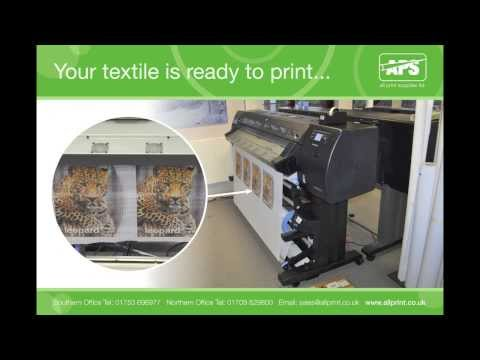 How to print textiles on HP latex printers and use printer accessories for soft signage
