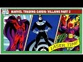 Marvel Trading Card Analysis - Super-Villains part 2