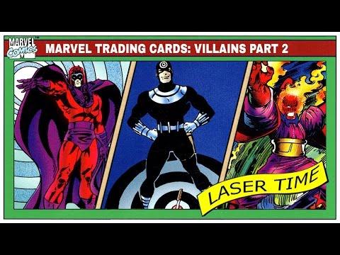 Marvel Trading Card Analysis - Super-Villains part 2 - 동영상
