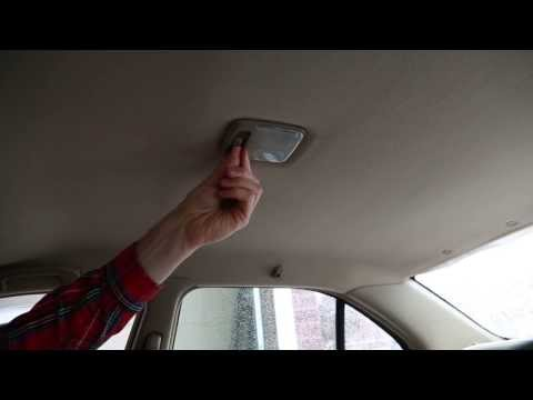 How to change a car dome light - EASY!