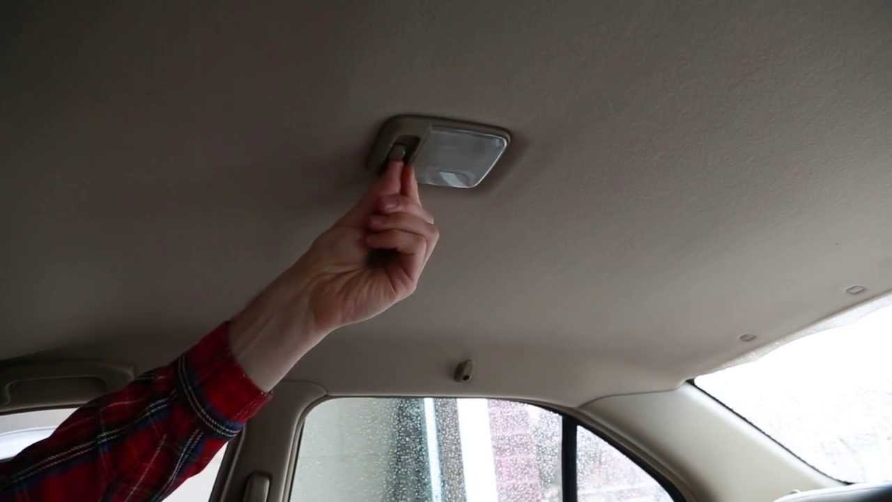 how to change a car dome light easy youtube