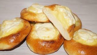 Как приготовить вкусные шанежки с картошкой.Простой рецепт)