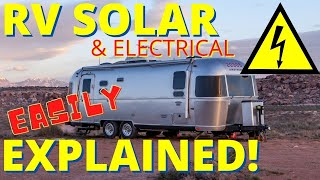 My RV Solar Set Up: Finally an Understandable RV Solar & Electrical Explanation!