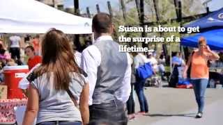 Michael & Susan's Marriage Proposal Flash Mob - Georgetown, DC