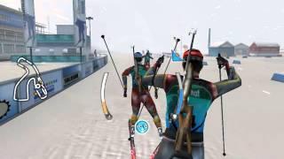 биатлон 2009 видео