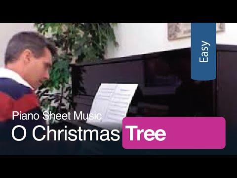 O Christmas Tree | Free Printable Sheet Music for Easy Piano