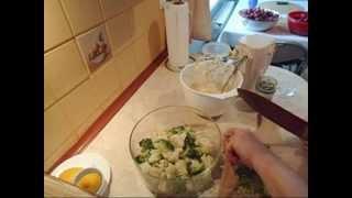 Breakfast | Sałatka z brokuła i kalafiora