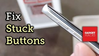Fix a Stuck Button on Your Smartphone or Tablet [How-To]