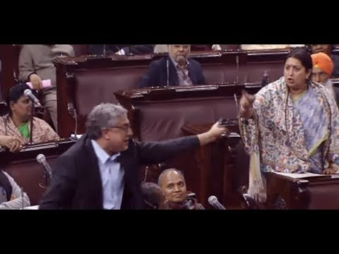 Rajya Sabha LIVE: Triple Talaq Bill पर भिड़ गए Smriti Irani और Derek O'Brien