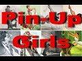 Как на самом деле выглядели пин-ап-модели / Pin-Up Girls And Their Photo Reference
