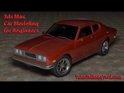 3ds Max Car Modeling Tutorial