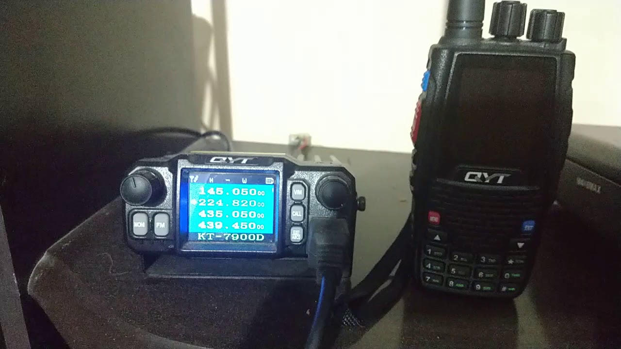 qyt 7900 with qyt 8r 220 mhz