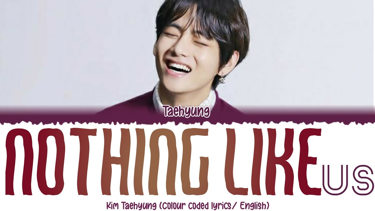 V/ kimTaehyung - Nothing Like Us by Justin Bieber (Jungkook's cover) Lyrics (Deeper Ver.) [FANMADE]