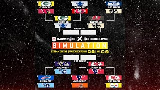 Madden 2020 Season Simulation Playoff Marathon!