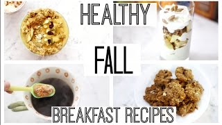 Healthy Fall Breakfast Ideas | Pumpkin Pie Smoothie Bowl, Psl Spoons + More!