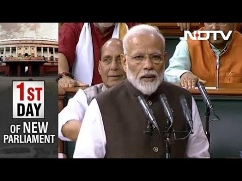 PM Modi, Other Lawmakers Take Oath As Members Of New Lok Sabha