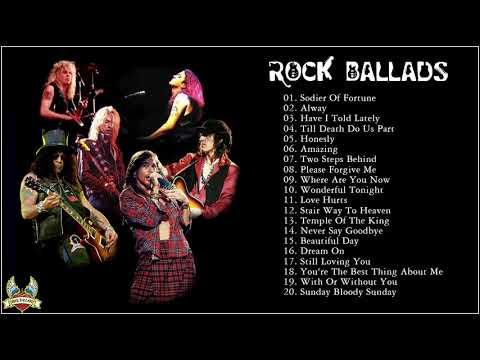 Greatest Slow Rock Ballads 80s, 90s - Scorpions, U2, Led Zeppelin, Bon Jovi, Aerosmith, Eagles