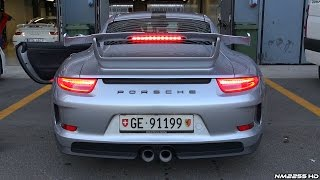 Porsche 991 GT3 with Cargraphic Exhaust LOUD Sound!