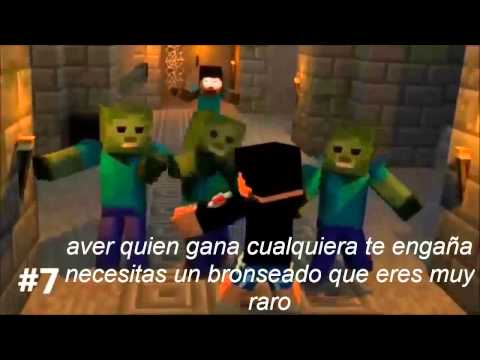 slenderman vs herobrine ( BATALLA LEGENDARIA DEL RAP ) Videos De Viajes