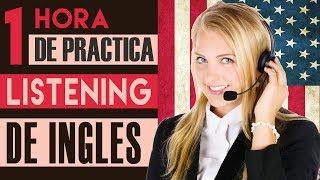 Más de 1 Hora Práctica de Listening en Inglés  - Aprende Comprensión de Inglés Listening