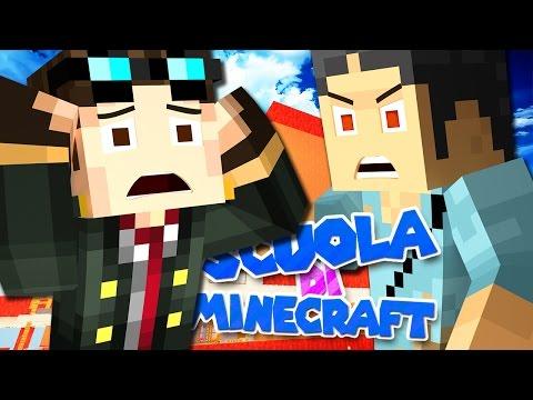 ST3PNY MI HA SGRIDATO - Scuola di Minecraft - Ep. 1