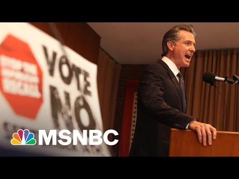 How The GOP-led California Recall On Gov. Newsom Got Started