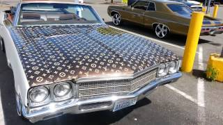72 buick Skylark Drop custom louis Vuitton paint