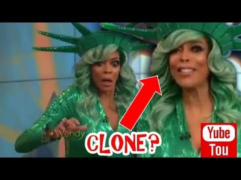 OMG!! WENDY WILLIAMS COLLAPSE, replaced by CLONE on LIVE TV!!!
