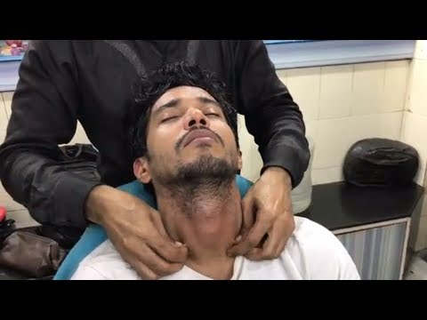 ASMR Indian Barber Relaxing Head Massage With Special Neck Massage By (Shamshed Aalam)
