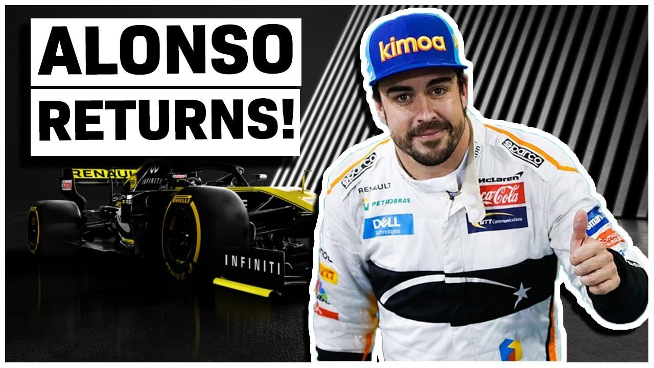 ALONSO RETURNS TO RENAULT! | F1 2020