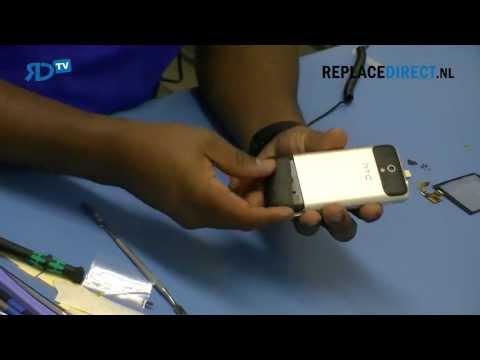 HTC Legend reparatie digitizer (touchscreen)