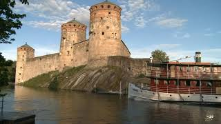 East Finland Savonlinna Kuopio Olavinlinna: Finnish Lakeland Saimaa thousands of lakes summer travel