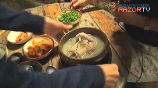 Video Chicken ginseng soup worth 4.5 hours drive (Yummy Korea Ep 4) download MP3, 3GP, MP4, WEBM, AVI, FLV November 2017