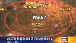United States Geological Survey Speaks Out On Explosion In West, Texas
