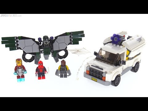 LEGO Spider-Man Homecoming: Beware the Vulture review! 76083 - YouTube