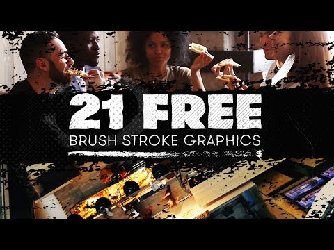 21 FREE Brush Stroke Graphics - Painted Lines, Shapes, And More | Free Assets