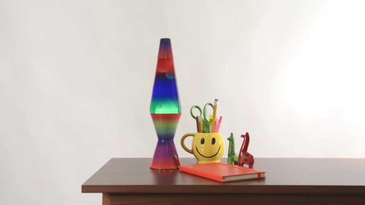 COLORMAX Rainbow Lava Lamp - YouTube