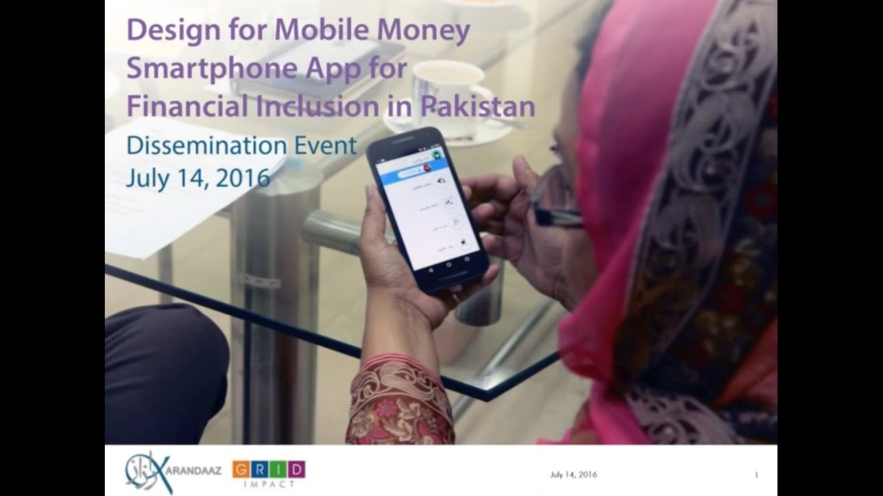 Mifos Community Webinar - Smartphone Interfaces for Mobile Money led by Grid Impact