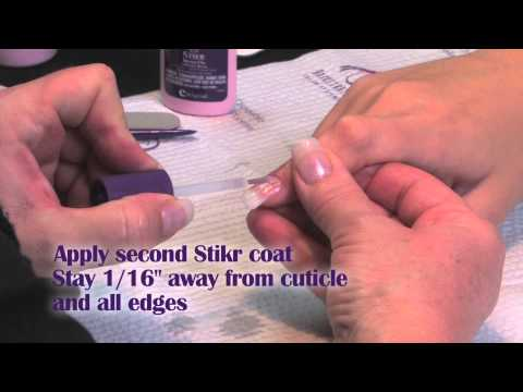 How to do a 4 week fill on Fiberglass & Silk Nails