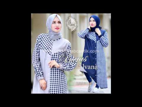Jual Baju Muslim Online | Baju Gamis Syar'i | Baju Gamis model Baru | Alvana Tunik By Bungas