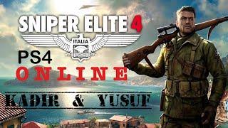 SNİPER ELİTE 4 1.Bölüm  (Online Game) Kadir ve Yusuf Oynuyor