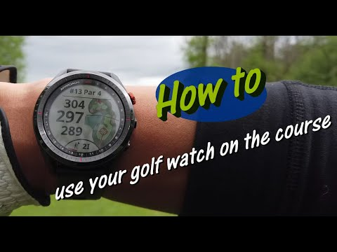 Garmin Approach S62 - Walk Through Of How You Would Use The Golf Watch On The Course!