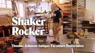 Repairing a Shaker Rocking Chair - Thomas Johnson Antique Furniture Restoration
