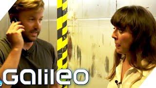 Escape Room: Wer kommt schneller aus dem Fahrstuhl   Galileo   ProSieben