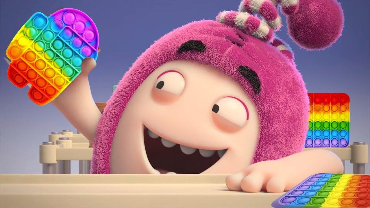 Oddbods POP IT Fidget Toy | LIVE | Funny Cartoon ?