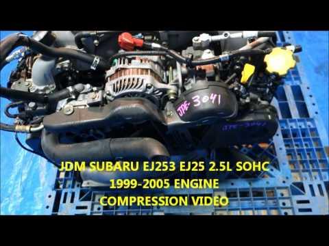 JDM SUBARU IMPREZA FORESTER LEGACY OUTBACK EJ253 EJ25 ENGINE 1999-2005 JPE-3041