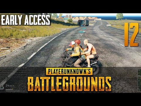 [12] PLAYERUNKNOWN'S BATTLEGROUNDS Early Access w/ GaLm and friends